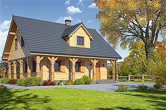 Projekt domu Dom mazurski dw