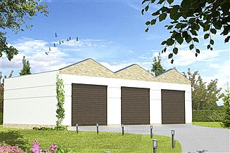 Projekt garażu Garaż G10