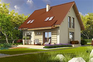 Projekt domu Adriana III (wersja B)