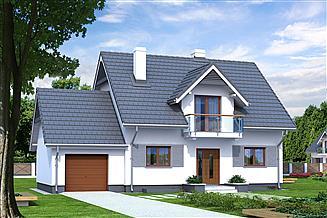 Projekt domu Azalia 5