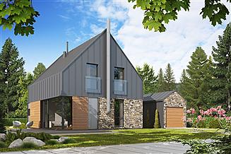Projekt domu D73