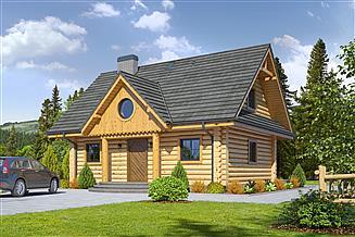 Projekt domu Waniewo dw