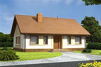 Projekt domu Daktyl energo