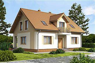 Projekt domu Kardamon 2