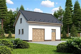 Projekt garażu Projekt G-8