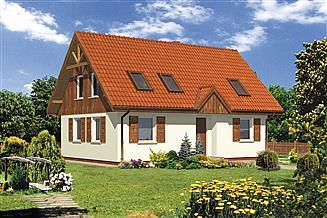 Projekt domu WB-0001