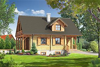 Projekt domu Osiek dw9