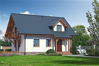 Projekt domu Olesno 3rs