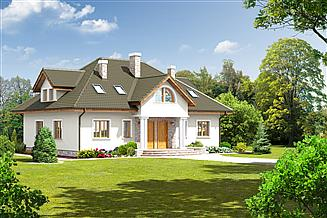 Projekt domu Szczepanów