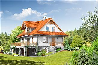 Projekt domu Jaworzynka nowa