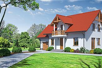 Projekt domu Dziekanowice 3