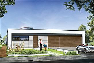 Projekt domu Willa atrium