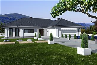 Projekt domu Madera