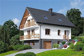 Projekt domu Bartne nowe