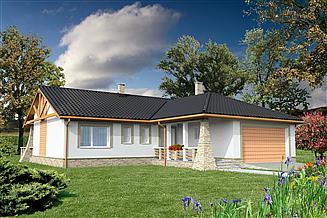 Projekt domu Walencja DCB49
