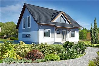 Projekt domu Darmstadt Pasywny 2 LDP02