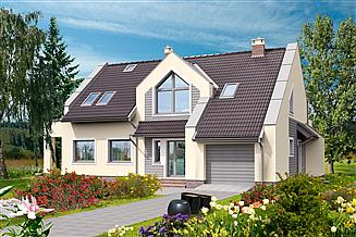 Projekt domu Heidelberg DCP207