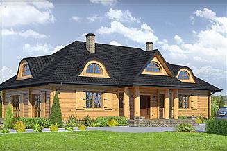 Projekt domu Chmielniki dw