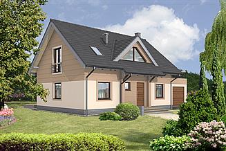 Projekt domu Berlin II DCP160a
