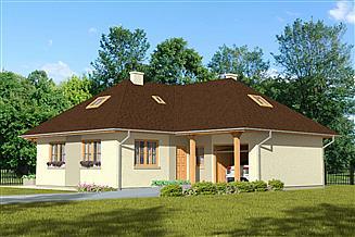 Projekt domu Domek Świerkowy (008 GW)