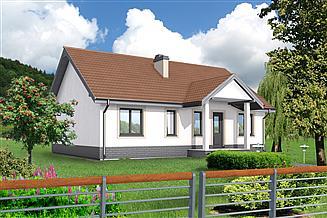 Projekt domu Saragossa DCB27