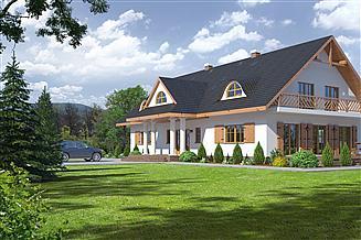 Projekt domu Chmielniki m14
