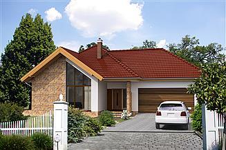 Projekt domu Ajaccio IV DCP282