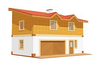 Projekt budynku gospodarczego BG 16