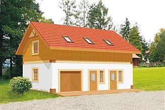 Projekt budynku gospodarczego BG 17