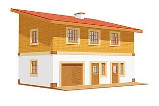 Projekt budynku gospodarczego BG 18