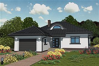 Projekt domu APS 153
