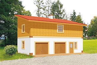 Projekt budynku gospodarczego BG 26