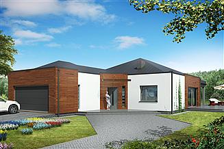 Projekt domu Dom Doskonały F Modern