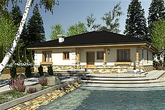 Projekt domu Kos bez garażu [B]