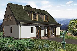 Projekt domu Mateusz