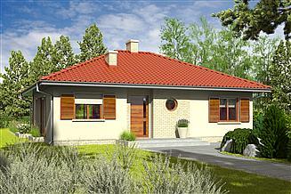 Projekt domu Manuela II