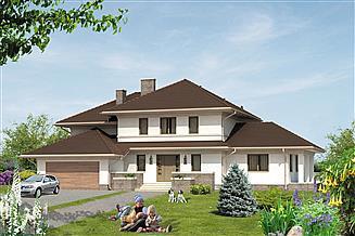 Projekt domu Bursztyn 2