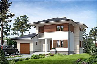Projekt domu Cyprys