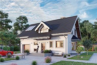 Projekt domu Pola Rex - murowana – beton komórkowy