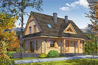 Projekt domu Jurgów dw