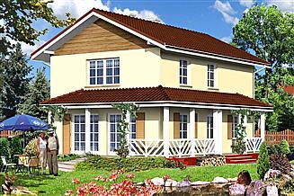 Projekt domu AR 136