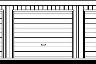 Projekt garażu GB43 K projekt garażu jedenastostanowiskowego