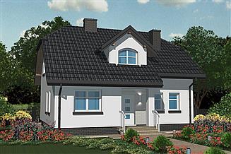 Projekt domu APS 074
