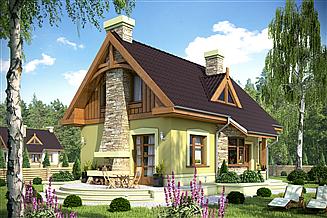 Projekt domu Agatka bez garażu [B]