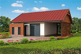 Projekt budynku gospodarczego G289 budynek gospodarczy