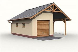 Projekt budynku gospodarczego G31 budynek gospodarczy