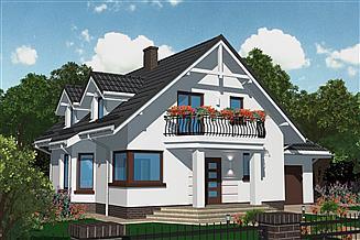 Projekt domu APS 099