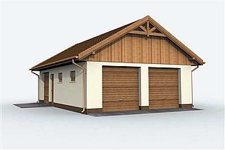 Projekt budynku gospodarczego G130 budynek gospodarczy
