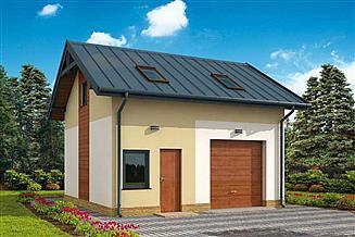 Projekt budynku gospodarczego G297 budynek gospodarczy