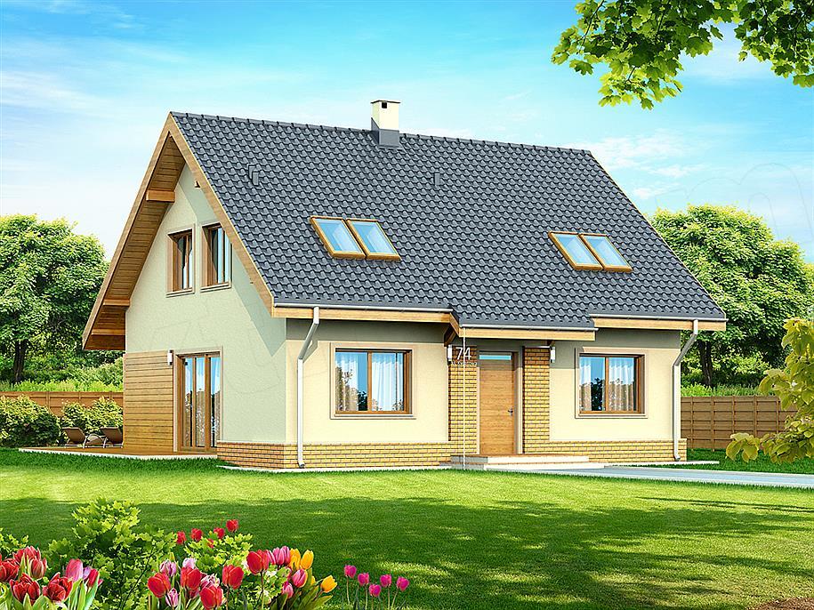 Projekt Domu Armanda Bis 131 41 M2 Koszt Budowy Extradom